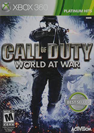 Call of Duty WORD aT War - MÍDIA DIGITAL XBOX 360