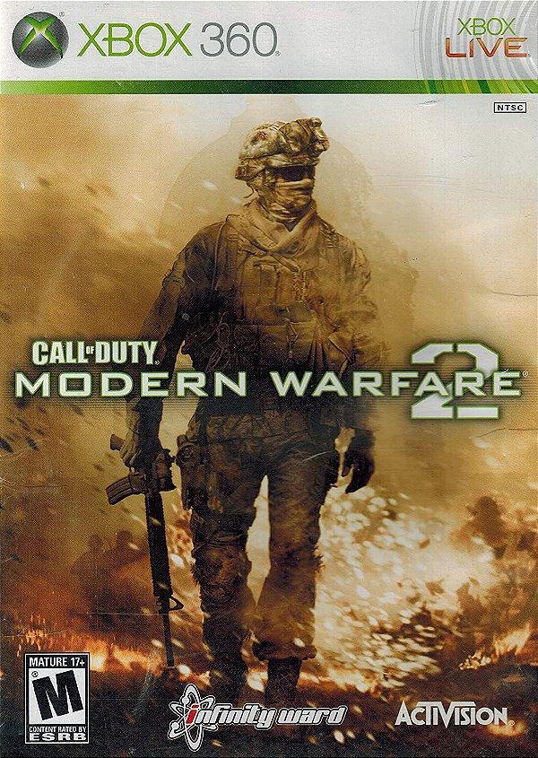 Call Of Duty Modern Warfare 2 - MÍDIA DIGITAL XBOX 360