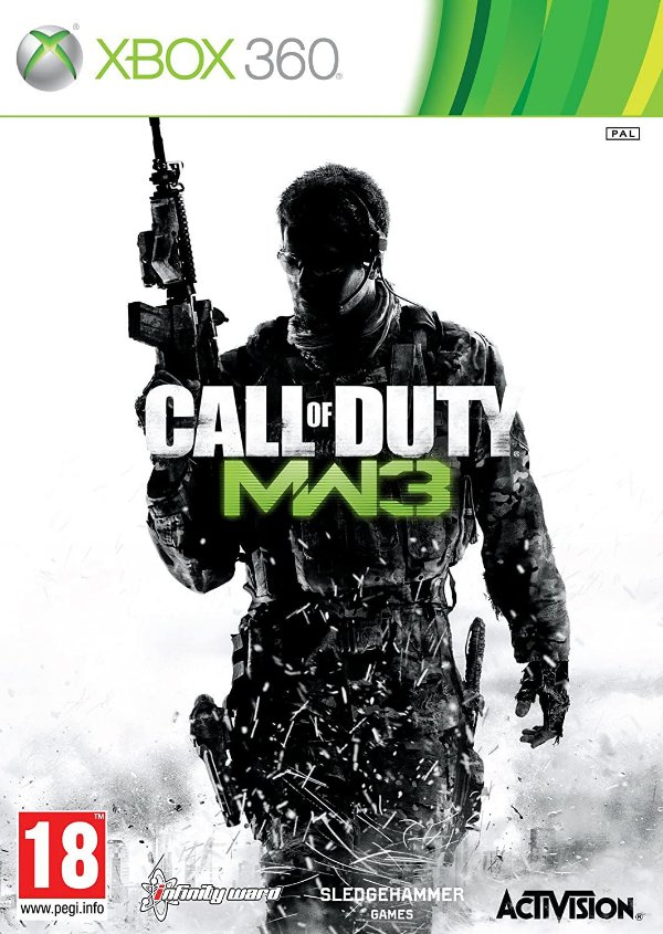 Call Of Duty Modern Warfare 3-MÍDIA DIGITAL XBOX 360