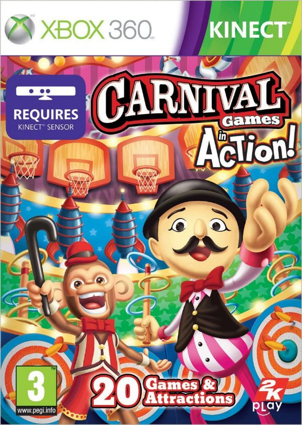 Carnival Games: In Action-MÍDIA DIGITAL