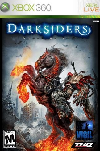 Darksiders-MÍDIA DIGITAL  XBOX 360