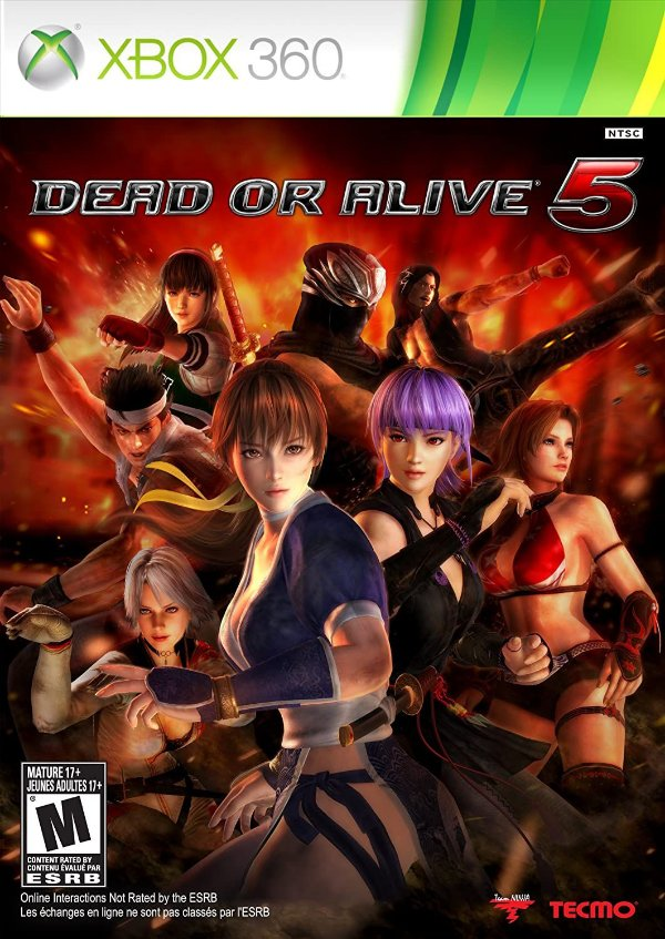 Dead or Alive 5-MÍDIA DIGITAL XBOX 360