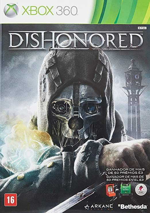 Dishonored-MÍDIA DIGITAL XBOX 360