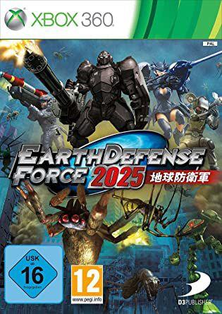 Earth Defense Force 2025-MÍDIA DIGITAL XBOX 360