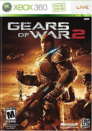GEARS OF WAR 2 MÍDIA DIGITAL XBOX 360