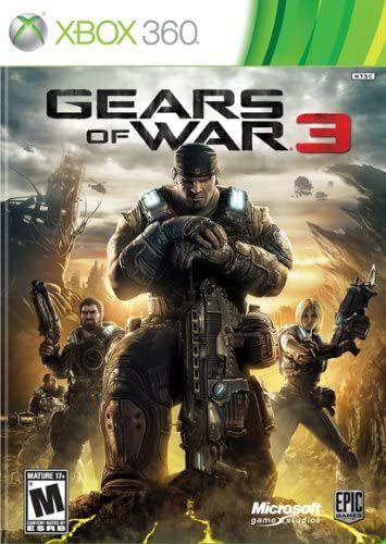 Gears of War 3-MÍDIA DIGITAL XBOX 360