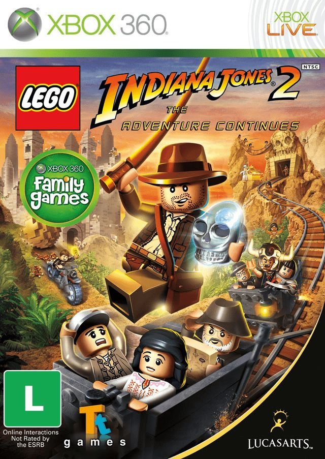 LEGO® Indiana Jones™ 2-MÍDIA DIGITAL