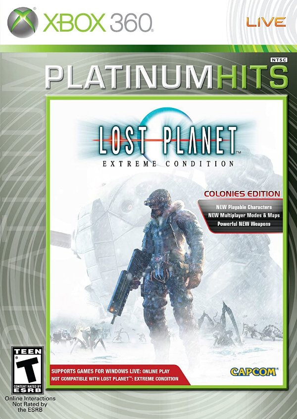 LOST PLANET COLONIES-MÍDIA DIGITAL