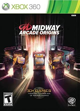 Midway Arcade Origins-MÍDIA DIGITAL XBOX 360