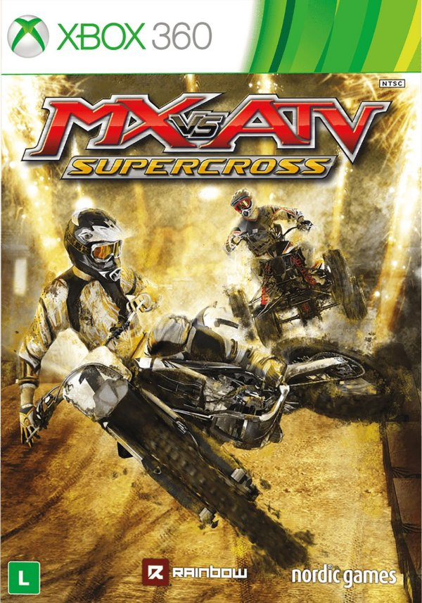 MX VS ATV Supercross-MÍDIA DIGITAL XBOX 360