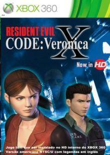 RESIDENT EVIL CODE: Veronica X-MÍDIA DIGITAL XBOX 360