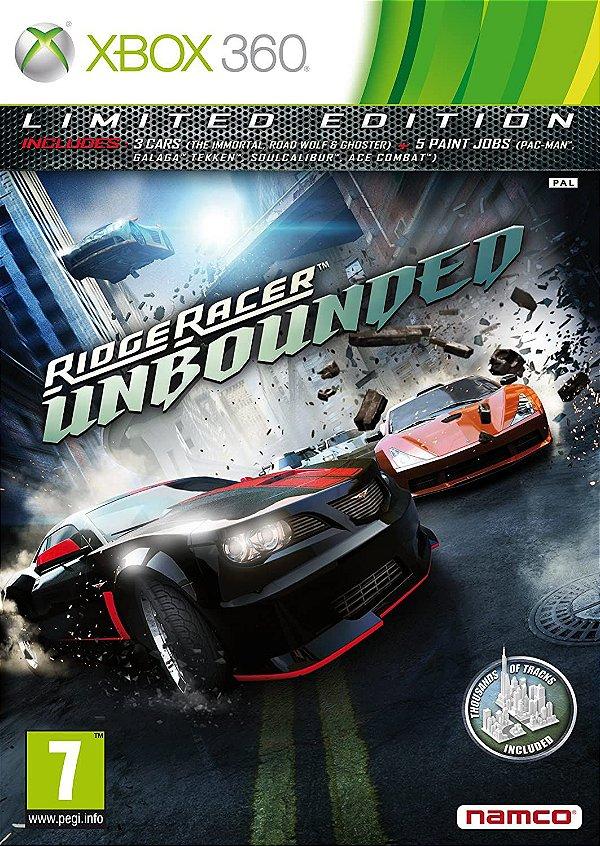 Ridge Racer Unbounded-MÍDIA DIGITAL XBOX 360
