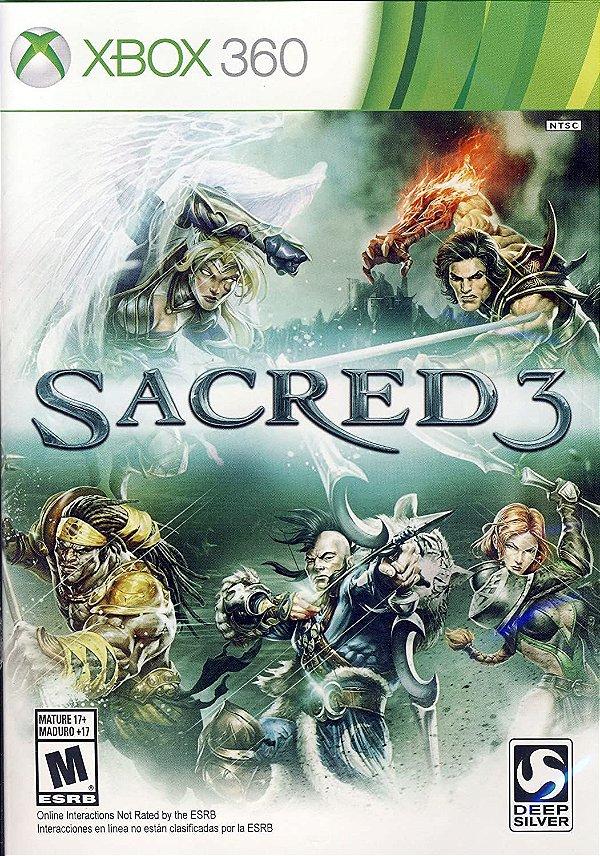 Sacred 3-MÍDIA DIGITAL XBOX 360