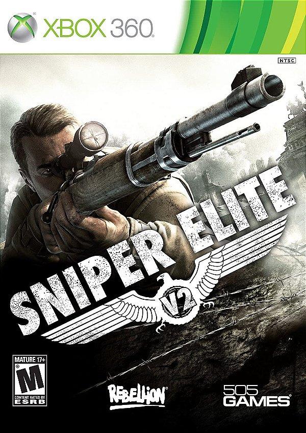 Sniper Elite V2-MÍDIA DIGITAL XBOX 360