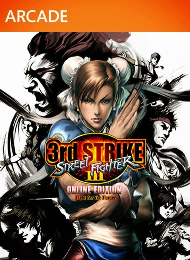 Street Fighter III: Third Strike Online Edition-MÍDIA DIGITAL XBOX 360