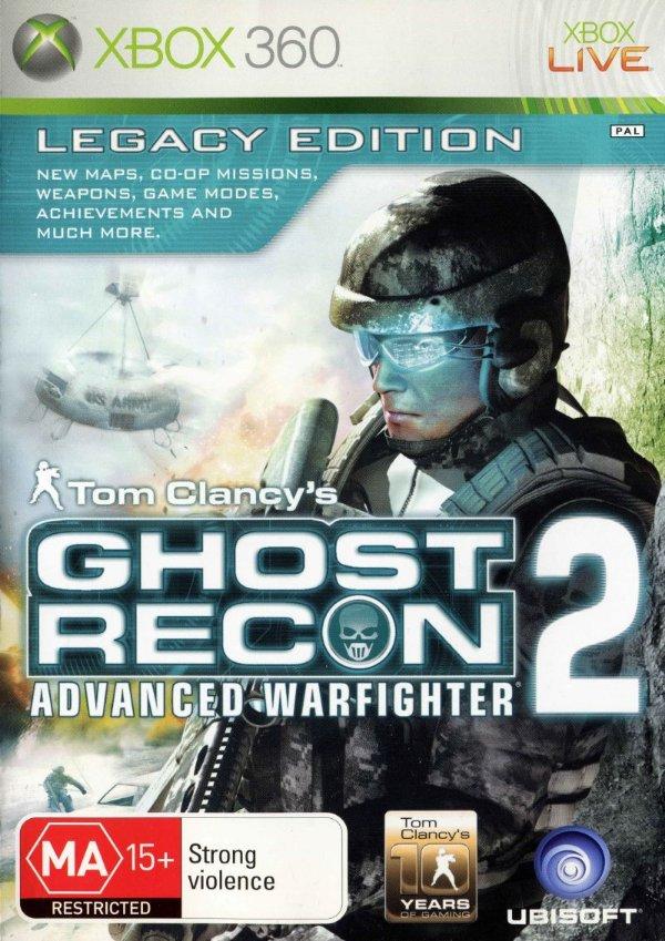 Tom Clancy's Ghost Recon Advanced Warfighter 2-MÍDIA DIGITAL
