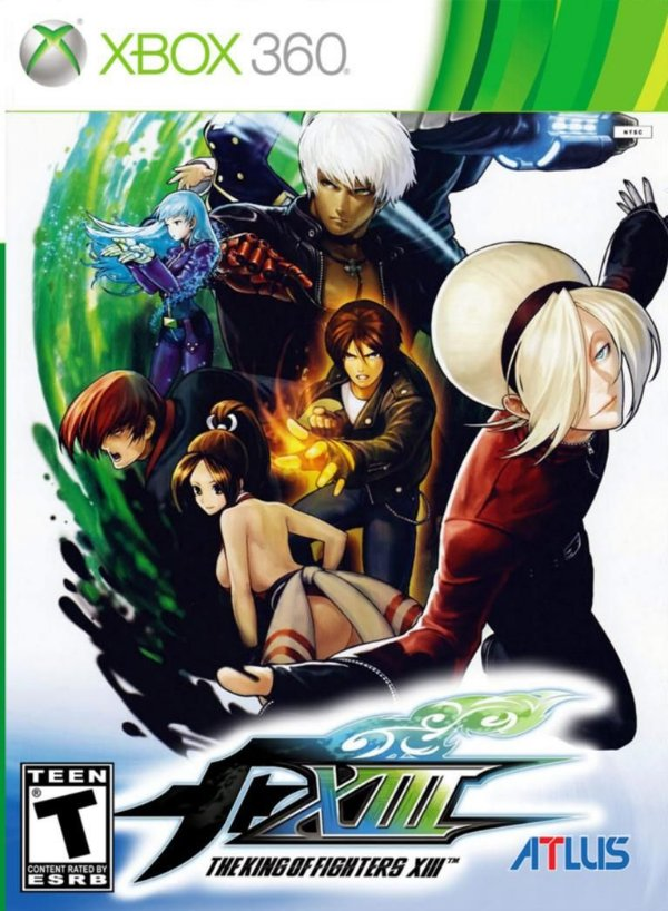 THE KING OF FIGHTERS XIII-MÍDIA DIGITAL