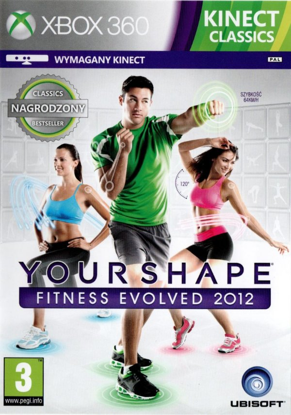 Your Shape Fitness Evolved 2012-MÍDIA DIGITAL XBOX 360
