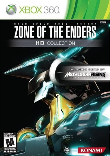 ZONE OF THE ENDERS HD COLLECTION-MÍDIA DIGITAL XBOX 360