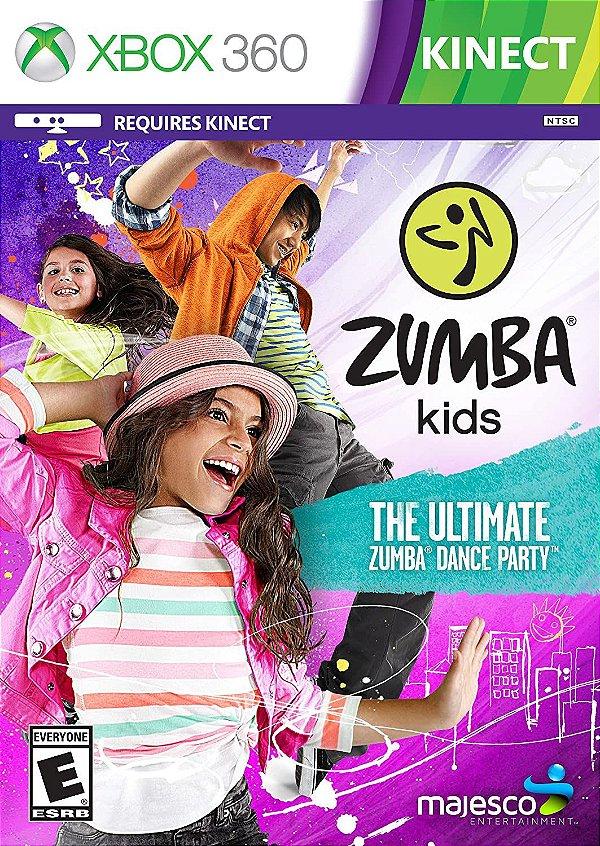 Zumba Kids-MÍDIA DIGITAL XBOX 360