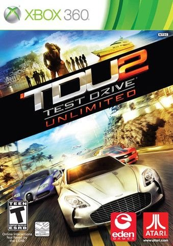 Test Drive Unlimited 2-MÍDIA DIGITAL