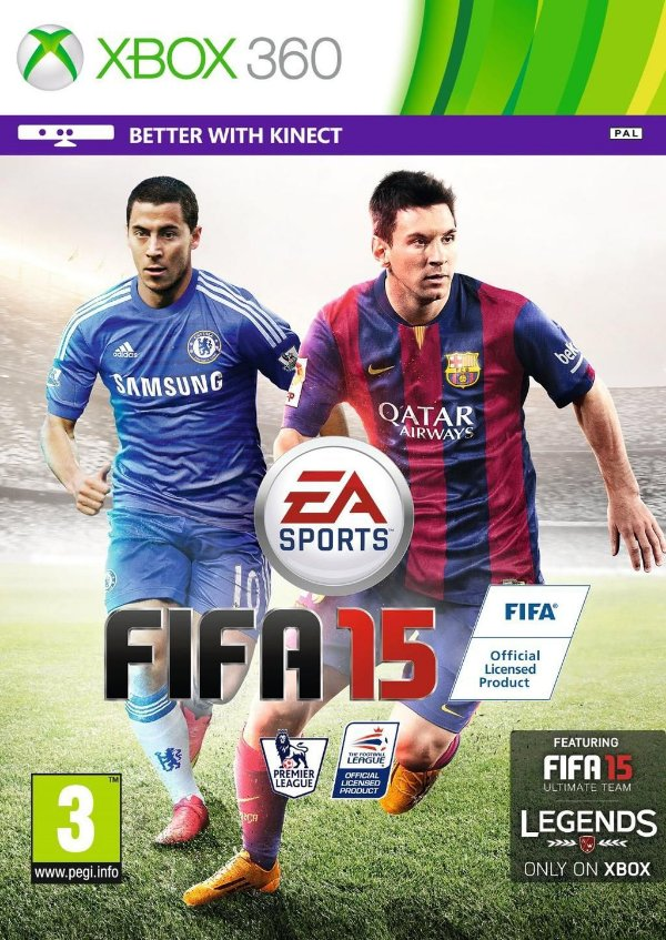 FIFA 15 + FIFA 16 + DIRT 3 MÍDIA DIGITAL XBOX 360