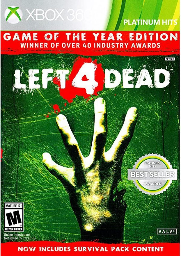 Left 4 Dead MÍDIA DIGITAL XBOX 360