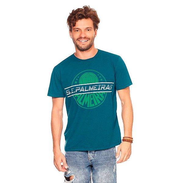 Camiseta Palmeiras Casual Masculina Oficial Promoção