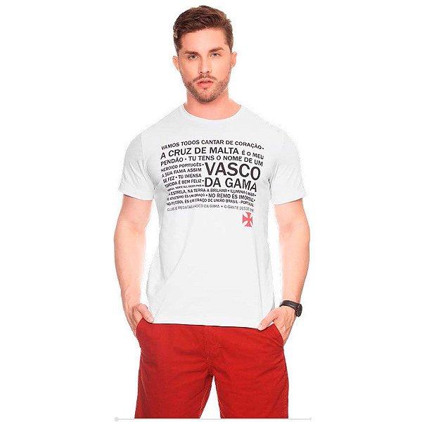 Camiseta vasco da gama Casual Masculina Oficial Promoção