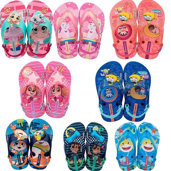 Chinelo Infantil Grendene Kids Ipanema Baby Elástico