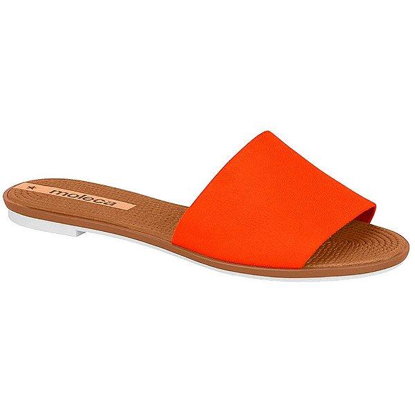 Rasteirinha Slide Moleca Camurça Flex (MM308)