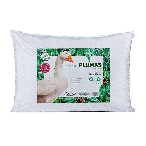 Travesseiro Altenburg Toque de Plumas 50cmX70cm