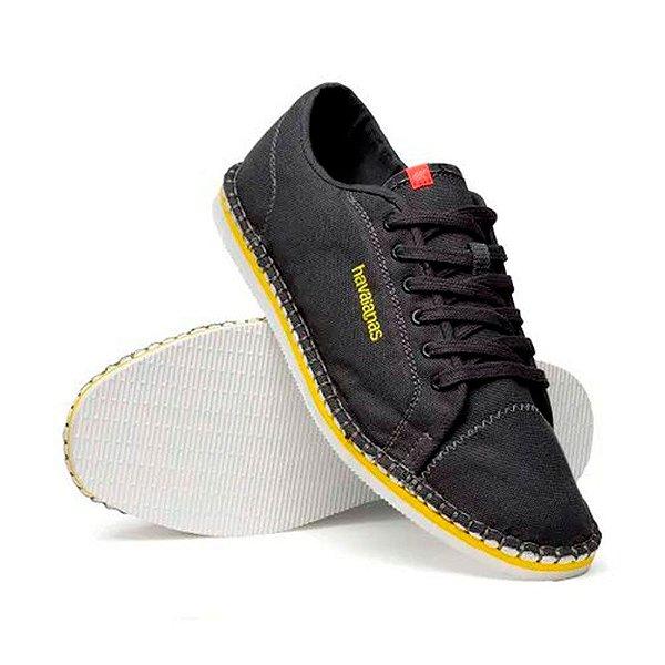 Tênis Alpargata Masculino Havaianas Sneaker Layers Cinza