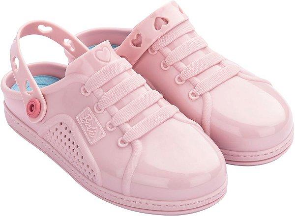 sandália Barbie Soft Sneaker infantil menina confortável