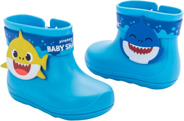 Bota Galocha Baby Shark Splash Grendene kids