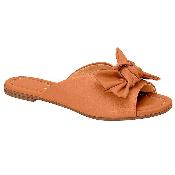 Chinelo Slide Feminino Vizzano Flat Laço Conforto