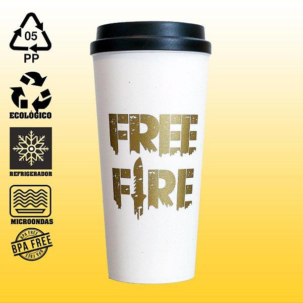 Copo Eco Bucks - Free Fire - Gold Edition