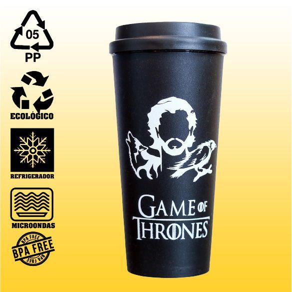 Copo Eco Bucks - Game Of Thrones - Jon Snow