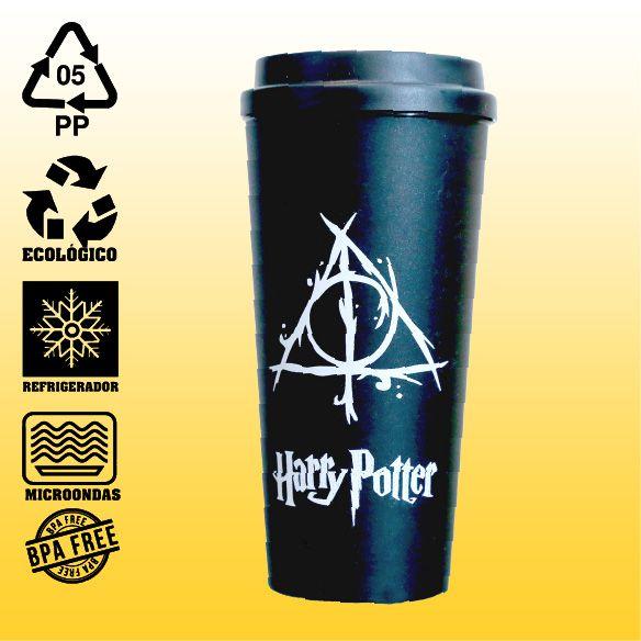 Copo Eco Bucks - Harry Potter - Reliquias da Morte