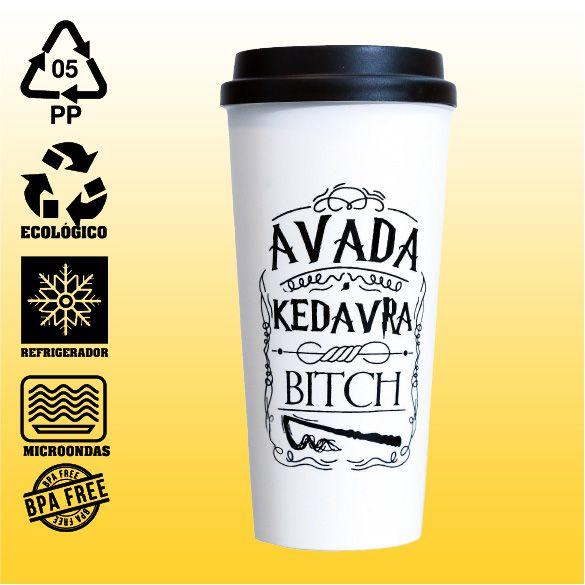 Copo Eco Bucks - Harry Potter - Avada Kedavra