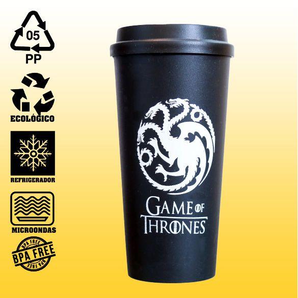 Copo Eco Bucks - Game Of Thrones - House Targaryen