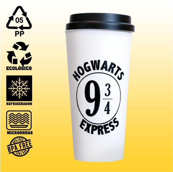 Copo Eco Bucks - Harry Potter - Hogwarts Express
