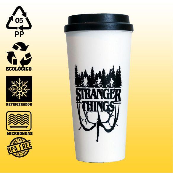 Copo Eco Bucks -Stranger Things