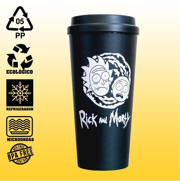 Copo Eco Bucks - Rick and Morty
