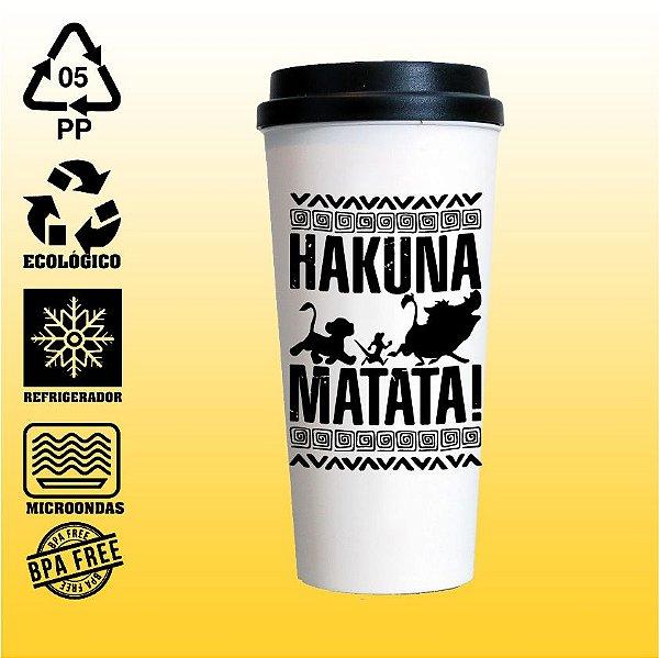Copo Eco Bucks - Rei Leão - Hakuna Matata