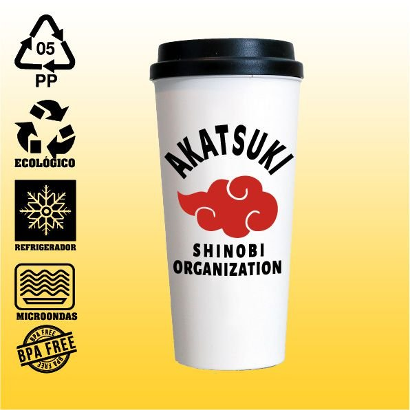Copo Eco Bucks - Naruto - Akatsuki Shinobi Organization