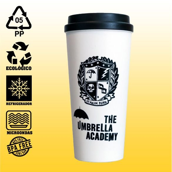 Copo Eco Bucks - The Umbrella Academy