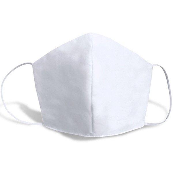 Máscara de Rosto - Tecido Duplo Lavável (100 unidades)