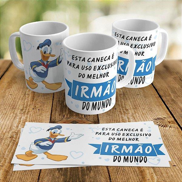 Caneca Porcelana - Uso Exclusivo Irmão Pato