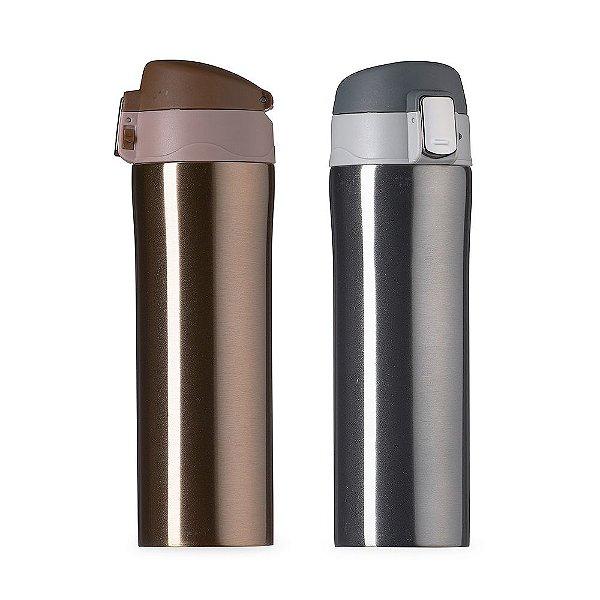Garrafa Térmica Metal 450ml - (20 Unidades) 02087
